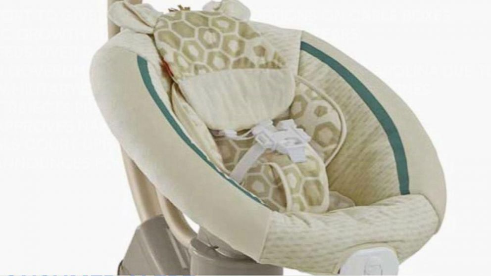 Fisher-Price Infant Cradle Swings Recalled Because of Fall