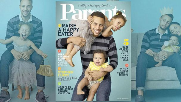 3638ae4e31b At Home With Stephen Curry and His Family. In the June issue of Parents  magazine ...