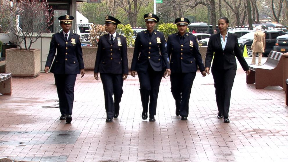 Five Sisters in New York City Police Department Break Barriers