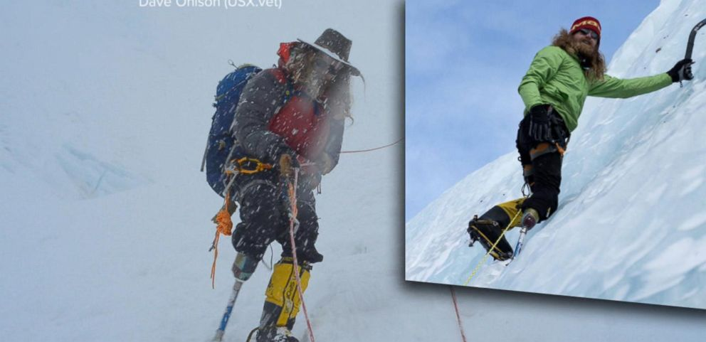 VIDEO: Wounded Warrior Makes History on Mount Everest