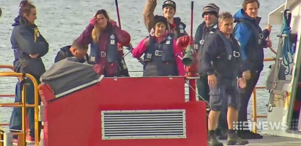 VIDEO: 9 Hot Air Balloon Passengers Rescued at Sea