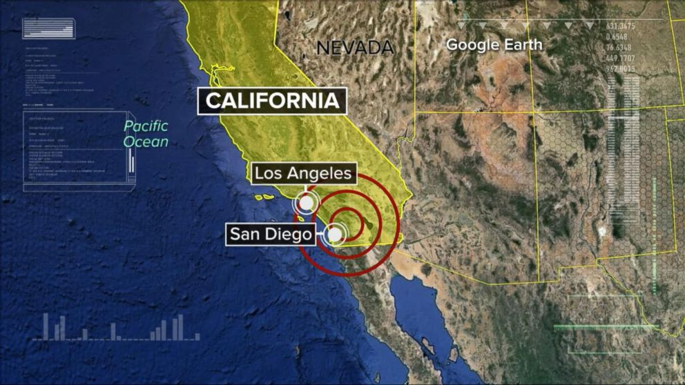 5 2 Magnitude Earthquake Rattles Southern California Felt In Los