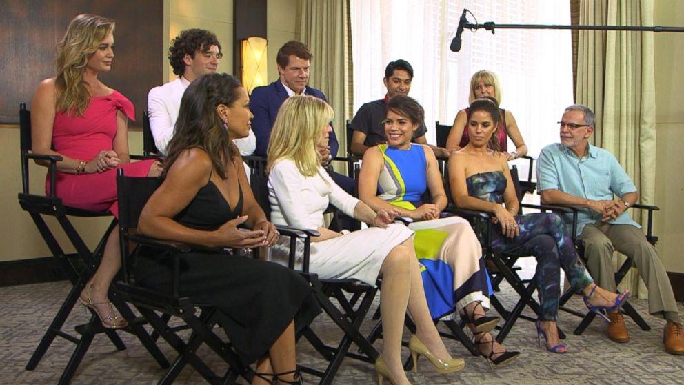 'Ugly Betty' Cast Reunion on 'GMA' Video - ABC News