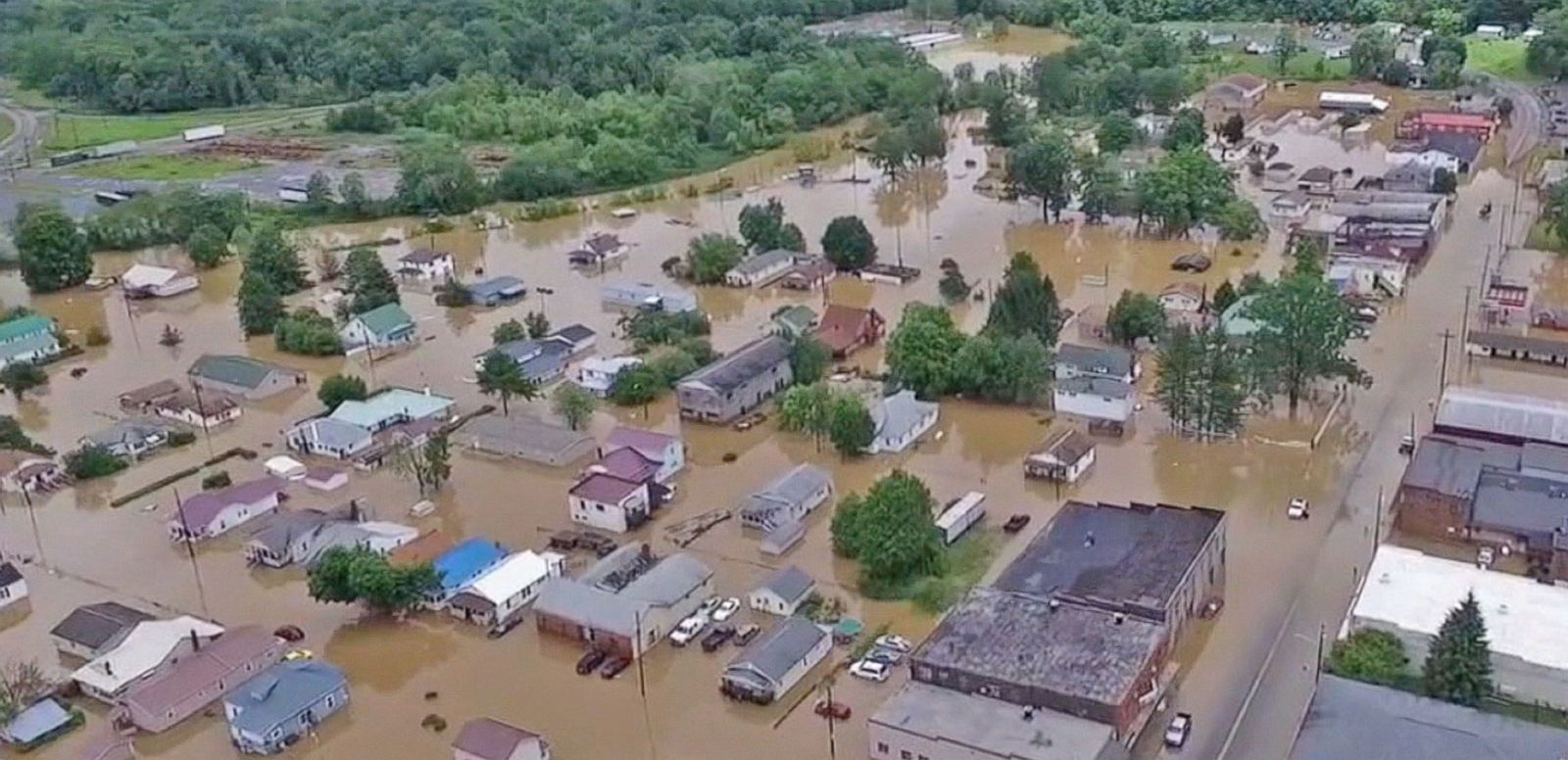 VIDEO: Rescue Efforts Underway in West Virginia After Deadly Flooding