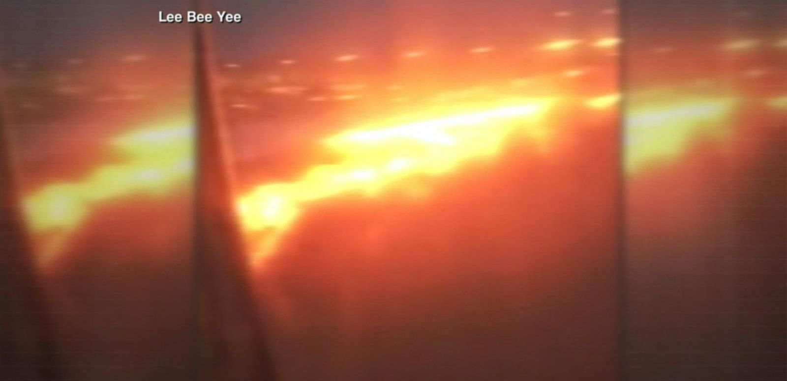 VIDEO: Plane Catches Fire After Emergency Landing