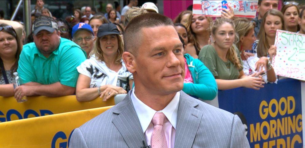 VIDEO: ESPYs 2016: Special Award and WWE Star John Cena Live on GMA