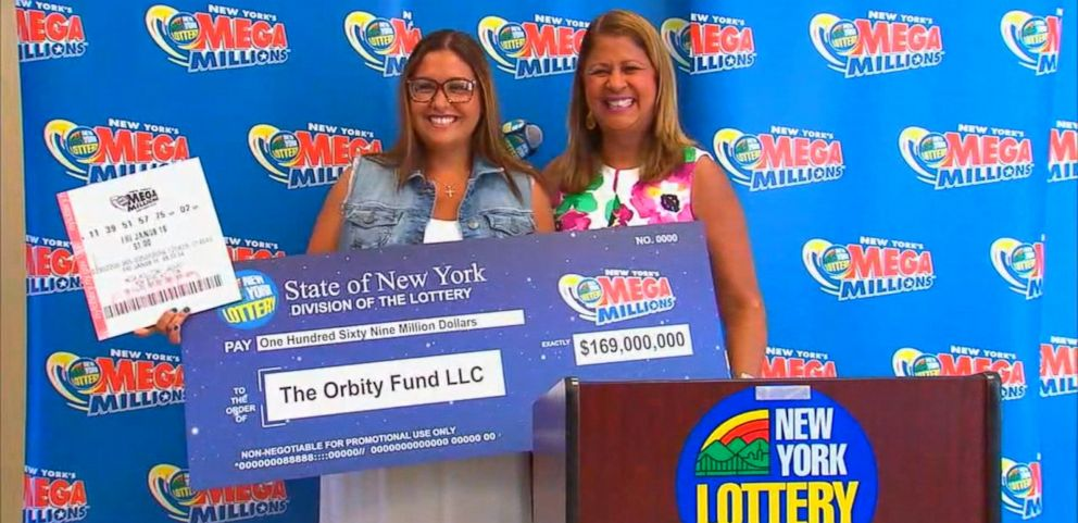 VIDEO: Nancy Viola said her husband purchased the winning ticket with an extra dollar he had on him.