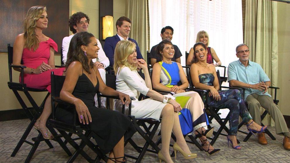 'Ugly Betty' Cast Reunion: Part 2 Video - ABC News