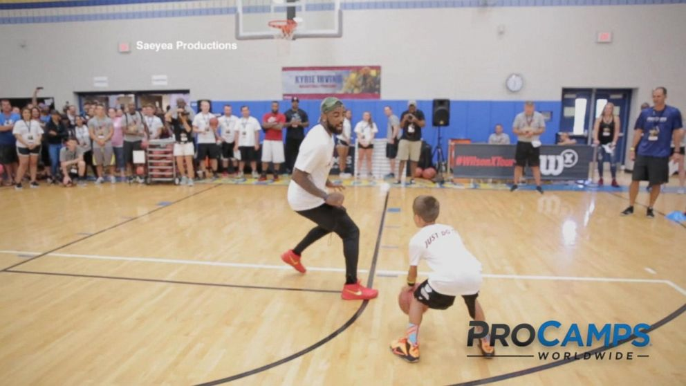 Young Fans Beat NBA Players at Their Own Game - ABC News