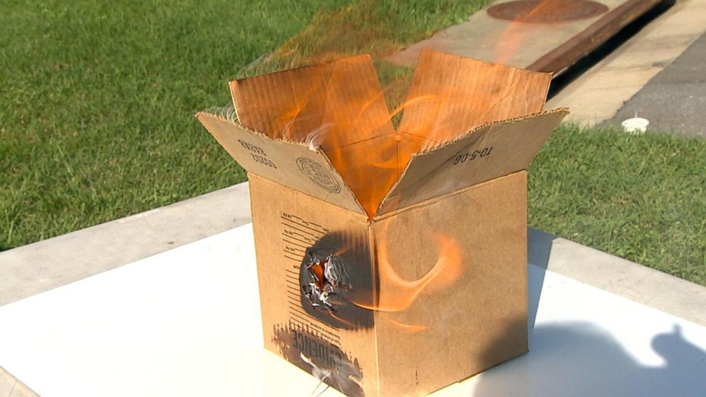Officials Warn Of Spontaneous Combustion Risk Of Linseed Oil And