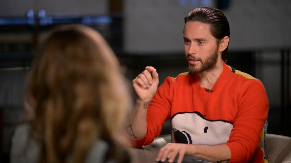 Jared leto on playing twisted joker in suicide squad video abc buffering ccuart Image collections