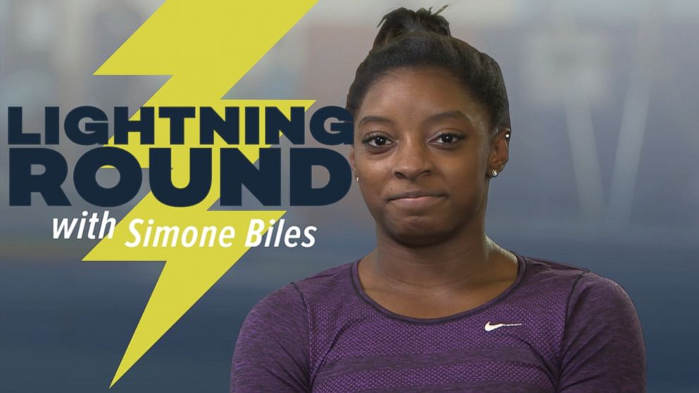 VIDEO: Rio Olympics 2016: Simone Biles Gets Candid in Our Lightning Round
