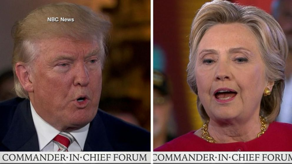 VIDEO: Donald Trump, Hillary Clinton Questioned on National Security