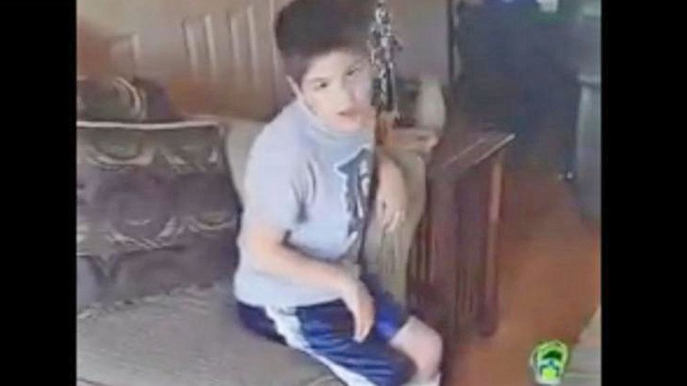 VIDEO: Boy With Cerebral Palsy Tries to Stand for National Anthem