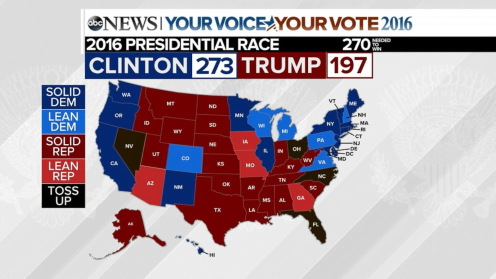 Donald Trump Faces Tough Road In State By State Election Map Video