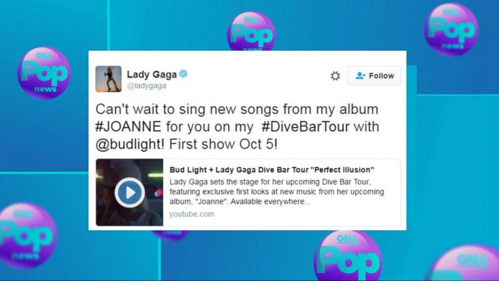 Lady Gaga Kicks Off Dive Bar Tour in Nashville - ABC News