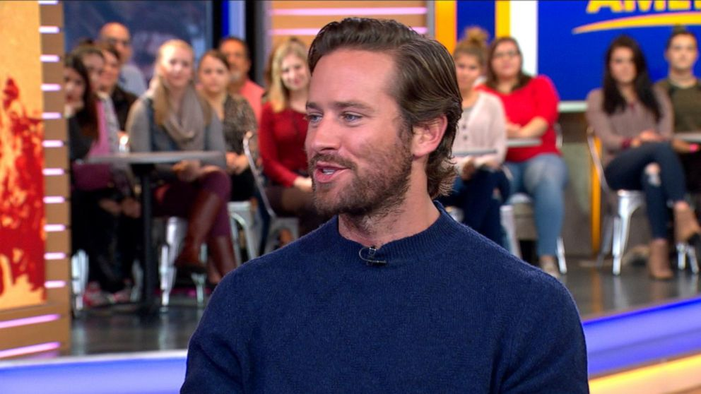 VIDEO: Armie Hammer Visits GMA to Talk The Birth of a Nation