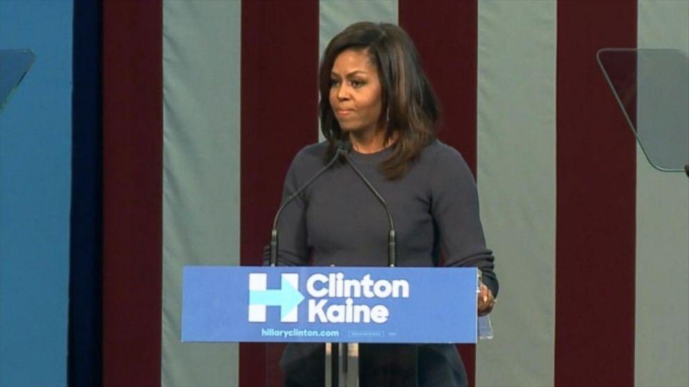 VIDEO: Michelle Obama Takes on Donald Trump