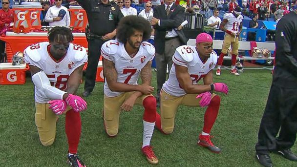 Colin Kaepernick Discusses National Anthem Protest
