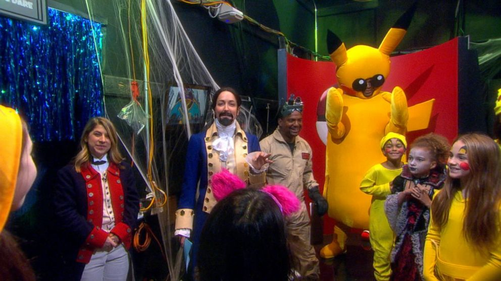 VIDEO: Halloween on GMA: Its a Celebrity Pokemon Party!