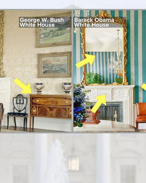 Decorating The White House What The Trumps Can And Can T Do Abc News