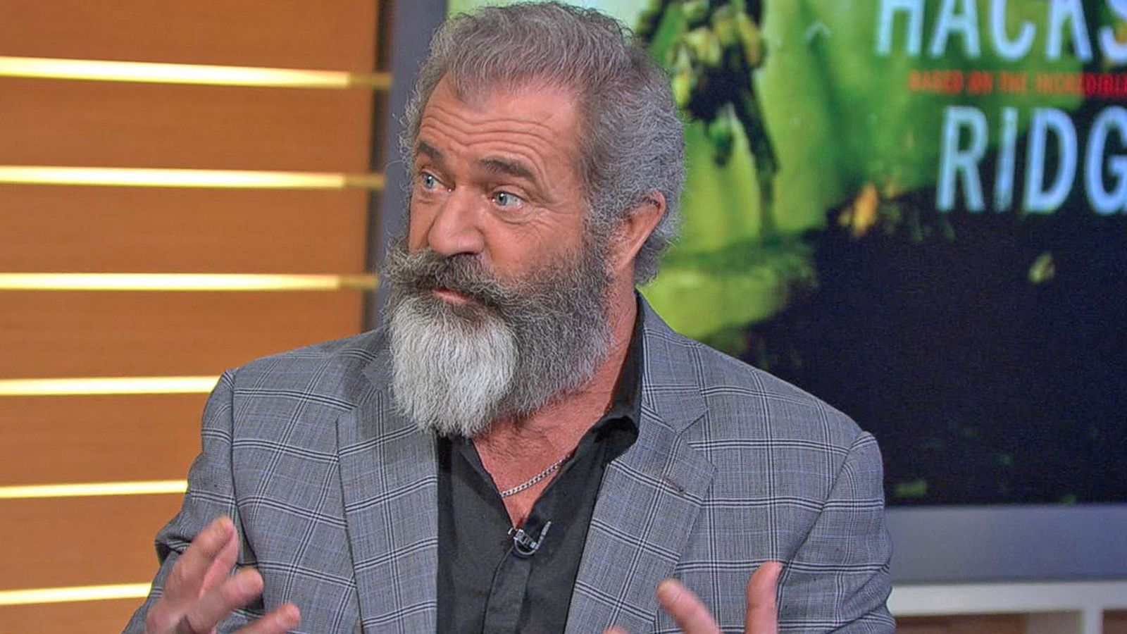 Mel gibson on directing his son milo in latest film hacksaw ridge mel gibson on directing his son milo in latest film hacksaw ridge abc news thecheapjerseys Image collections