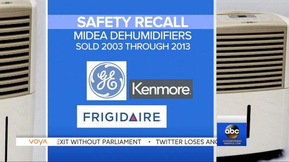Recall Reissued for Millions of Dangerous Dehumidifiers