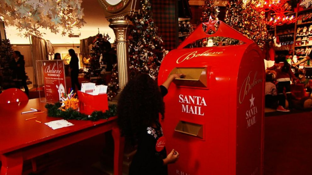 macy's 'believe' campaign invites kids to mail letters to santa to