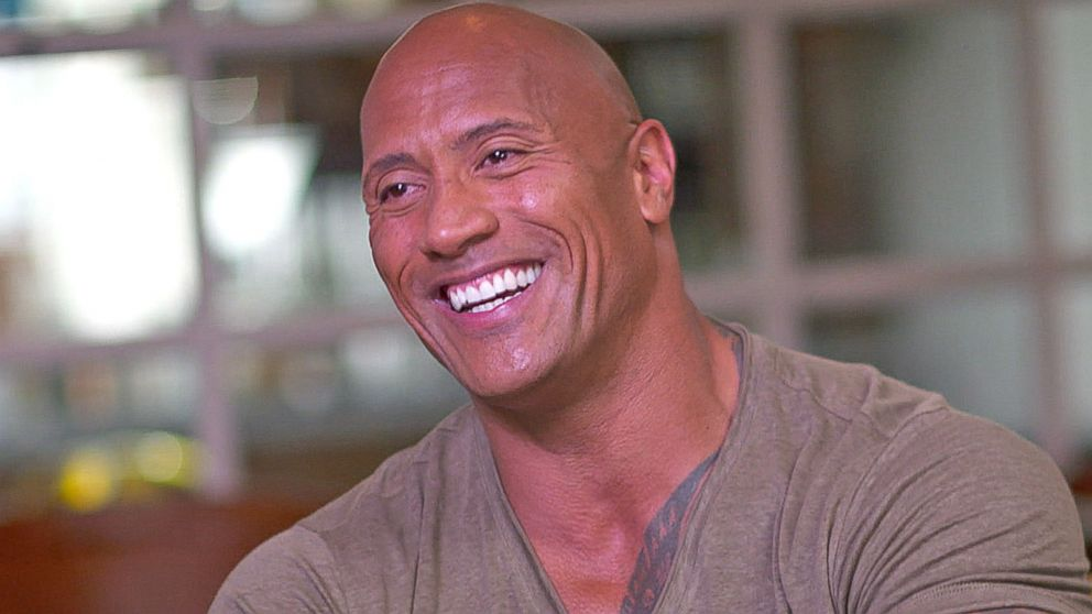 VIDEO: Dwayne The Rock Johnson Shed Manly Tears During Moana