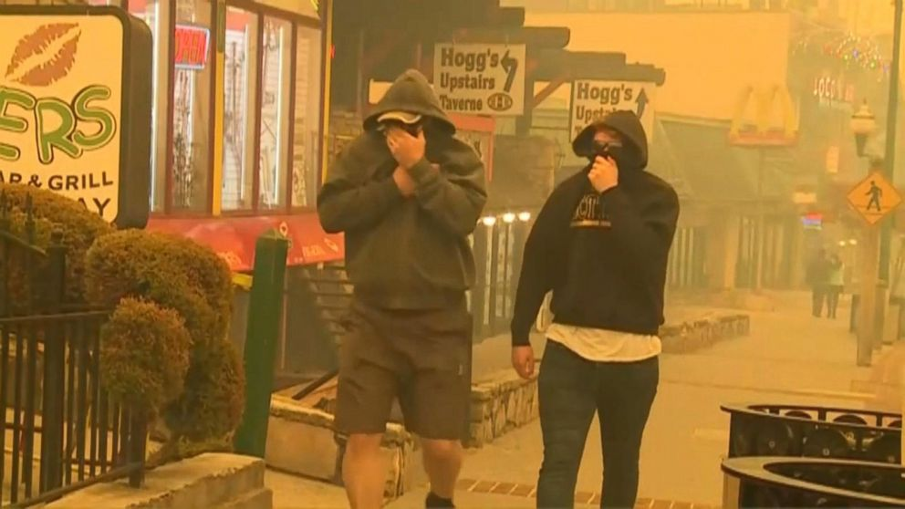 VIDEO: Fires in Great Smoky Mountains Cause Massive Evacuations