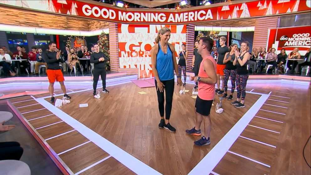 VIDEO: Gabby Reece Leads Full-Body Holiday Prep Workout