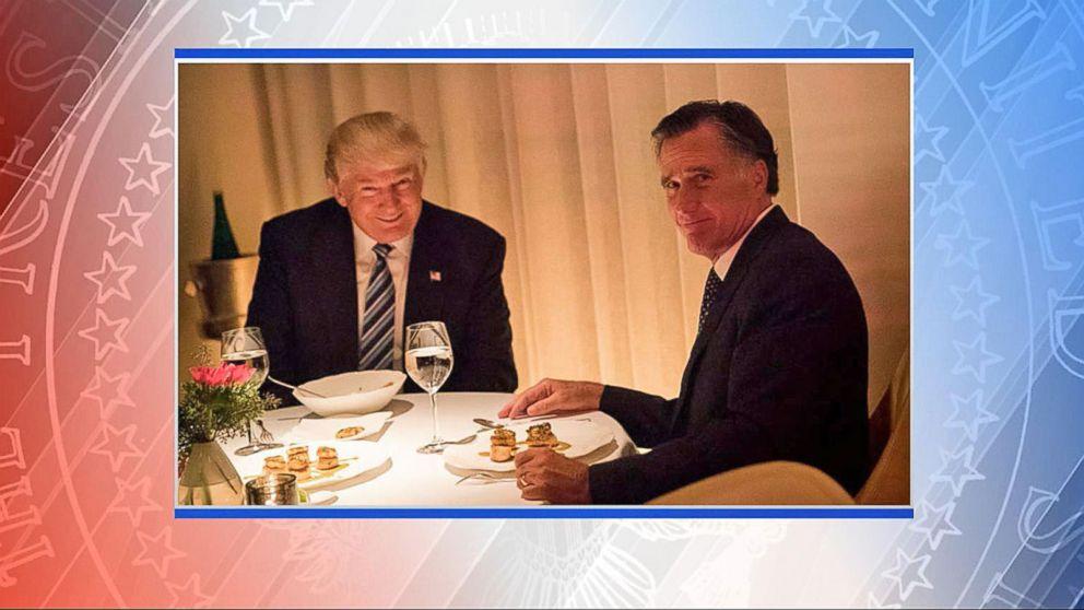 VIDEO: Donald Trumps Dinner with Mitt Romney