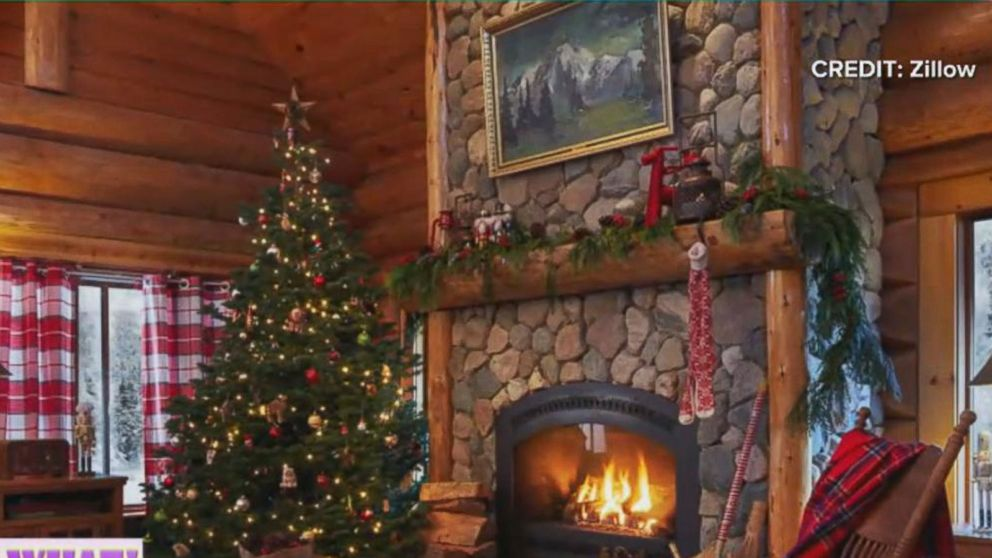 Inside Santa Claus Cozy North Pole Home Valued At 657k Abc News