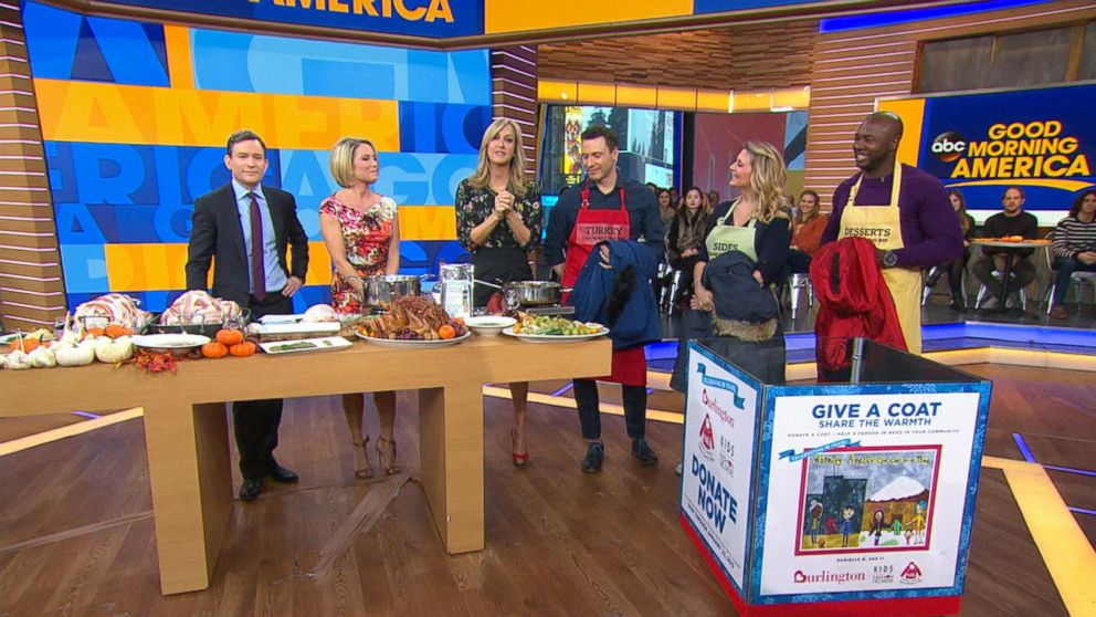 All-Star Celebrity Chefs Donate to Coat Drive
