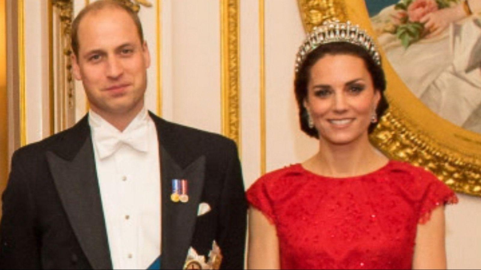Princess Kate Dazzles In Princess Dianas Beloved Tiara Abc News