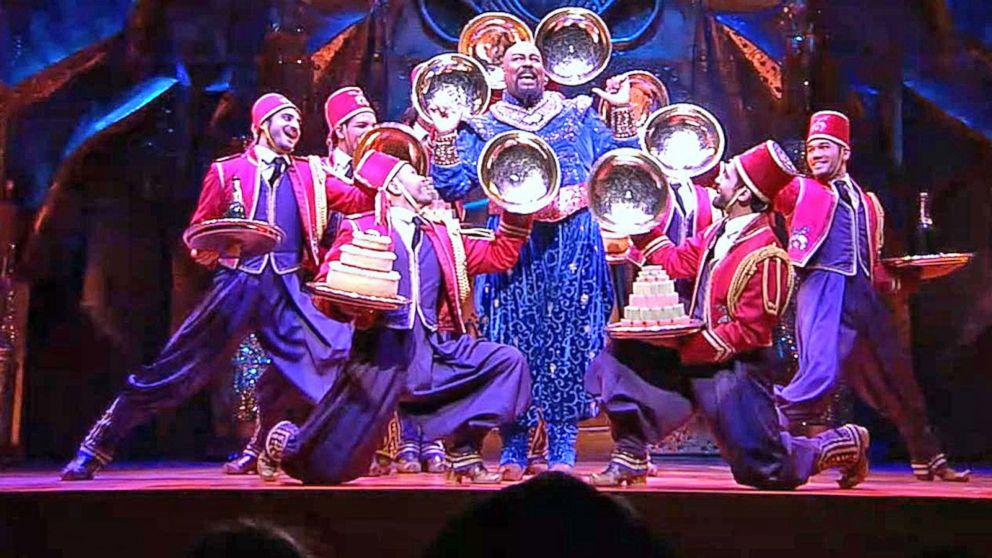 Cast Of Broadways Aladdin Perform Friend Like Me Live On GMA