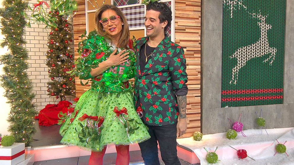 gma anchors compete in ugly christmas sweater showdown - How To Decorate A Ugly Christmas Sweater