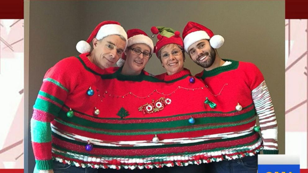 Ugly Christmas Sweaters.Ugly Christmas Sweaters To Get You In The Holiday Spirit