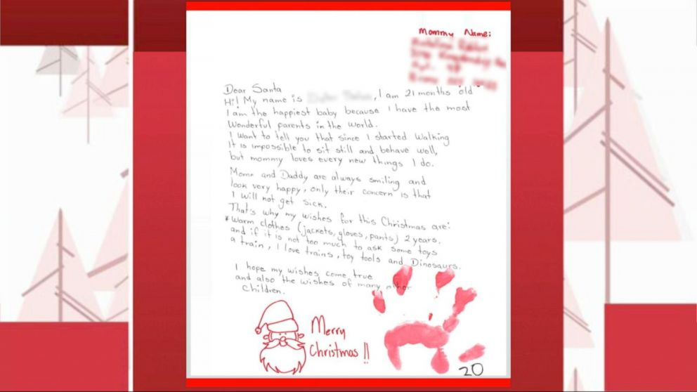 VIDEO: Couple Answers Letters to Santa Sent to Their Apartment