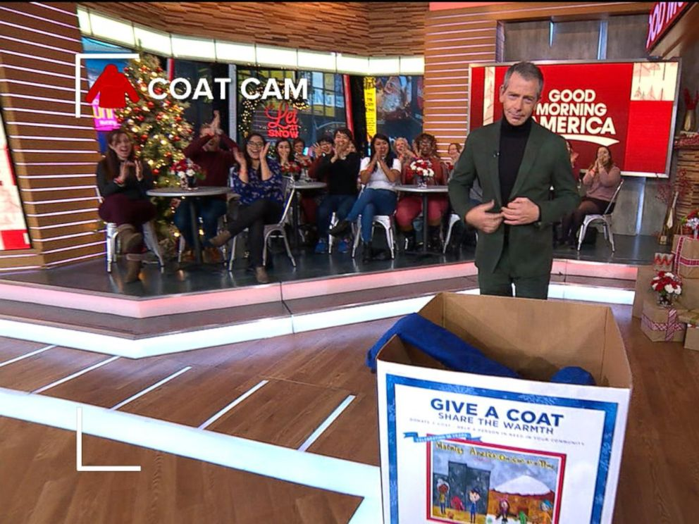 'Rogue One' Stars Donate Coats