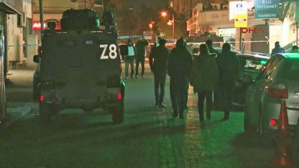 VIDEO: Manhunt Intensifies for Turkey Nightclub Terrorist