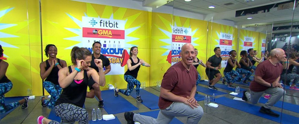 VIDEO: Celebrity Trainer Harley Pasternak Leads GMAs Workout Wednesday