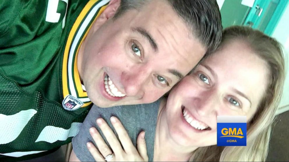 Green Bay Super Fan Says It's a No Brainer to Take Fiance's