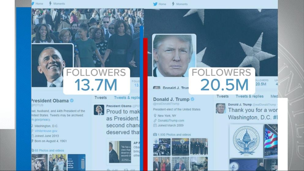 Will Donald Trump Take Over Potus Twitter Account Video Abc News