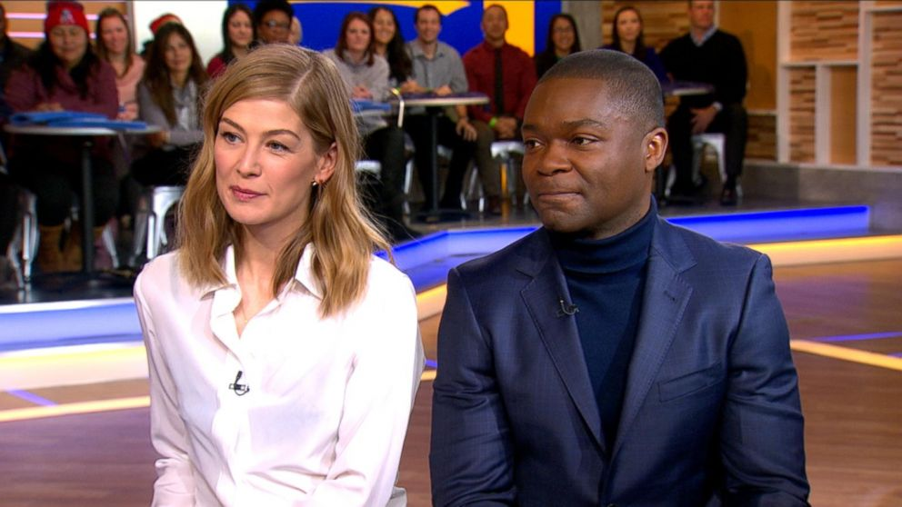 David Oyelowo and Rosamund Pike Discuss 'A United Kingdom ...