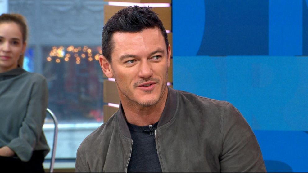 Beauty And The Beast Star Luke Evans Says Playing Gaston Is An Honor Abc News