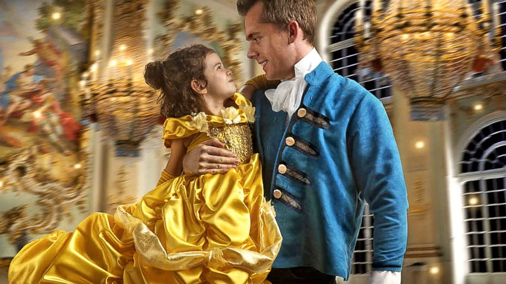 Dad Gives Daughter Authentic Princess Treatment With Beauty And The