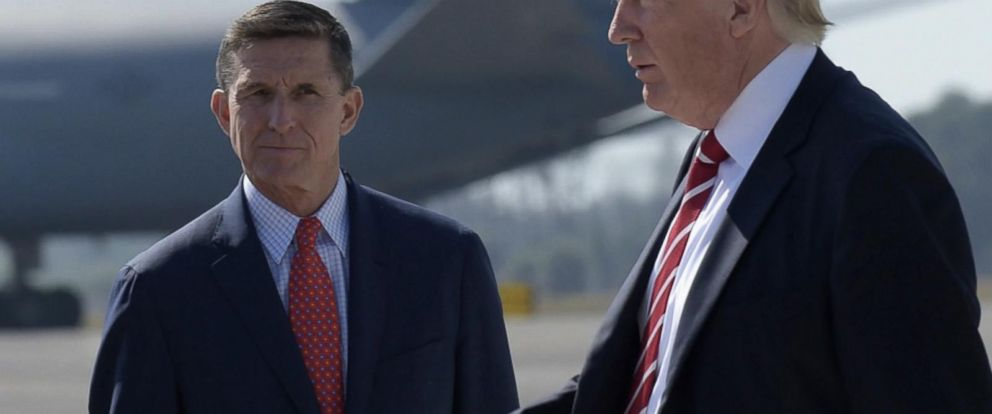 VIDEO: Trump calls Michael Flynn a wonderful man