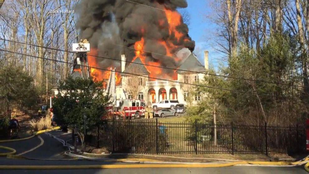 Fire at multimillion-dollar mansion raises concerns of