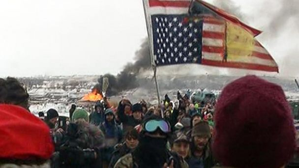 Dakota Access Pipeline protest camps ordered to vacate